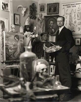 Mark Ryden - Mark Ryden at his studio.