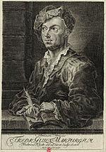 Friedrich Wilhelm Marpurg (nach Fr. Kauke, 1758) (Quelle: Wikimedia)