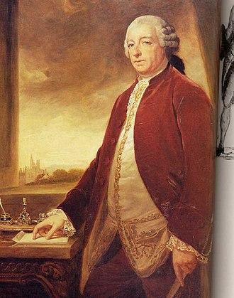 George Germain, 1st Viscount Sackville - Image: Marsh George 1800George Germain