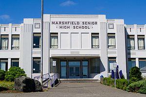Marshfield High School (Coos Bay, Oregon) - Image: Marshfield Senior High School