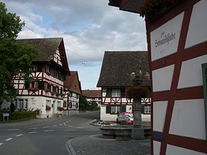 Marthalen - Several half-timbered houses in Marthalen