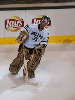 Marty Turco - Turco during his tenure with the Stars