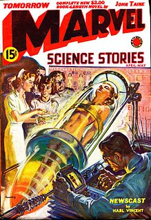 <i>Marvel Science Stories</i> American pulp science fiction magazine