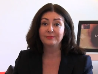 Maryam Namazie - Namazie in a June 2014 episode of a magazine show Bread and Roses