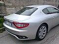 Maserati GranTurismo 4.2 V8 405CV (Silver, rear).jpg