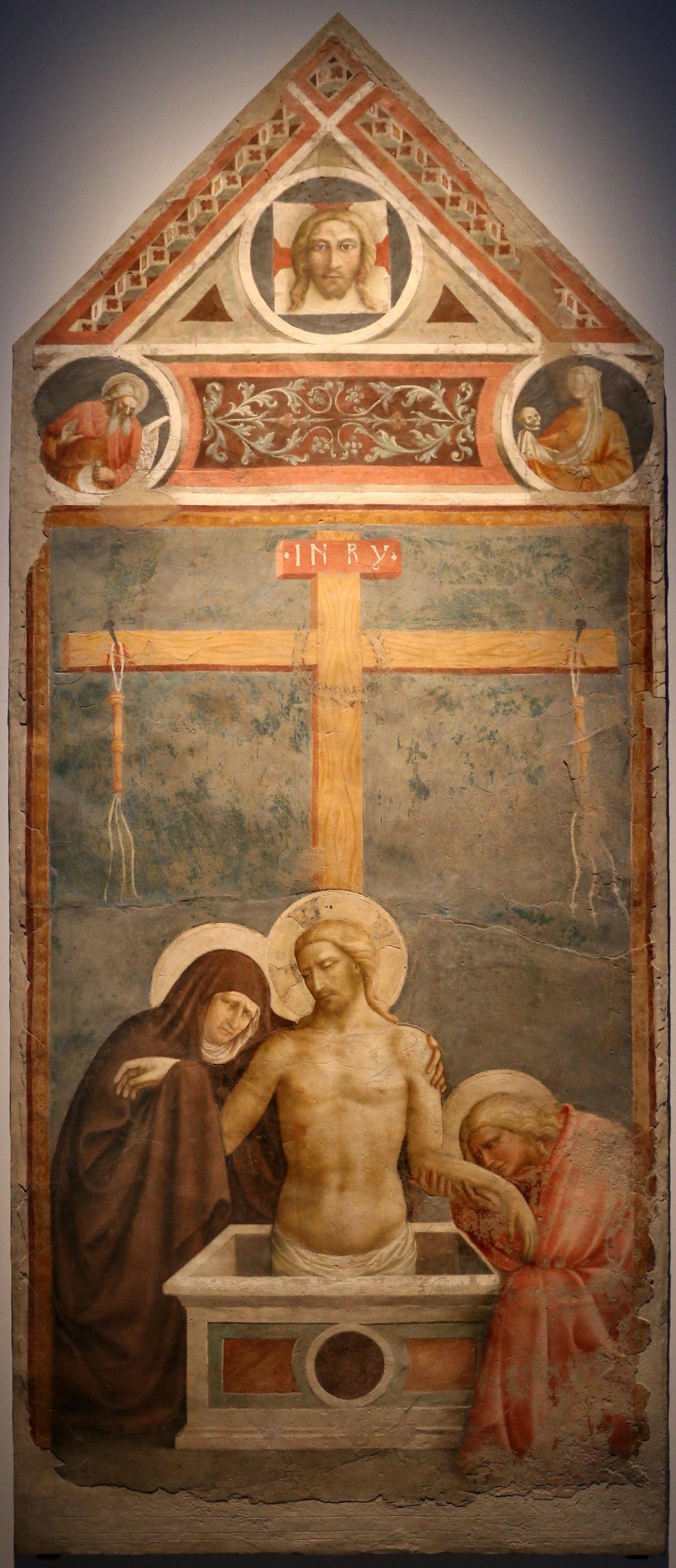 File:Masolino da panicale, cristo in pietà, 1424 (empoli ...