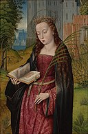 Master of the Embroidered Foliage - Saint Barbara.jpg