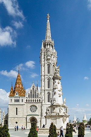 Matthias Church - Image: Matthias Church, Budapest, 2017