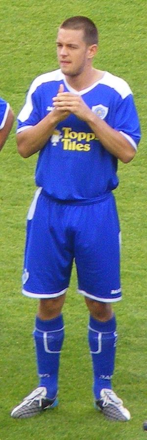 Matty Fryatt - Fryatt lining up for Leicester City in 2008