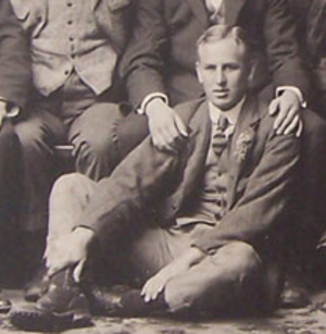 Maurice Neale - Maurice Edward Neale with the British Isles team in 1910