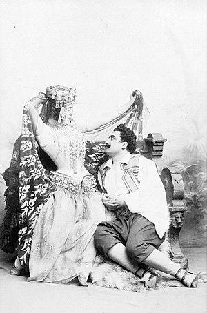 Augusta Holmès - Image: Maurice Renaud & Lucienne Bréval in Augusta Holmès' La Montagne noire
