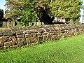 Maxstoke Churchyard Wall East.JPG