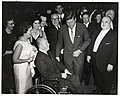 Mayor John F. Collins with Mary Collins, President John F. Kennedy, and group of men and women (10158707364).jpg