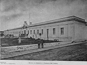 Universidad de San Carlos de Guatemala - College of Medicine and Pharmacy in 1897.
