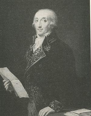 Francesco Melzi d'Eril - Portrait Melzi by Andrea Appiani.