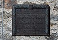 Memorial plaque, Rüsselsheimer Hütte.jpg