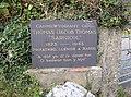 Memorial stone, Capel Cynon, Llandissiliogogo - geograph.org.uk - 612030.jpg