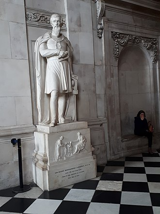 Henry Montgomery Lawrence - Memorial to Henry Lawrence at St. Paul's Cathedral, London