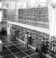 Men at a public library in Malmö 1949.jpg