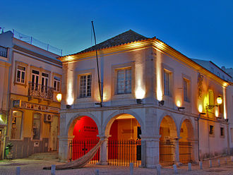 Lagos, Portugal - Lagos's slave market. Built in 1444, it was colonial Europe's first slave market