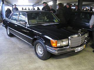 Mercedes-Benz 450SEL 6.9 Motor vehicle