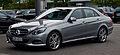 Mercedes-Benz E 200 CDI Avantgarde (W 212, Facelift) – Frontansicht, 25. Mai 2013, Düsseldorf.jpg