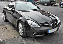 Mercedes SLK 200 Kompressor front.jpg