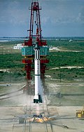 Mercury-Redstone 3 Launch MSFC-6100884