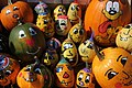 Mering, painted pumpkins and squashes 001.JPG