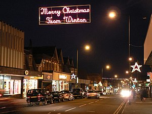 Merry Christmas from Winton - geograph.org.uk - 620166.jpg