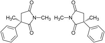 Mesuximid-Enantiomere Strukturformel.png