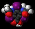 Metrizoic-acid-3D-spacefill.png