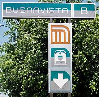 Metro Buenavista Mexico City metro station
