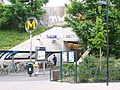 Metro Paris - Ligne 13 - Chatillon - Montrouge - Entrée.jpg