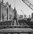 Metro in Rotterdam, de Coolsingel, in het midden het metrokanaal, Bestanddeelnr 915-2522.jpg