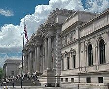 Metropolitan Museum of Art, New York City NY, entrance