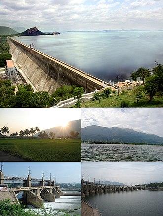 Mettur - Mettur Dam