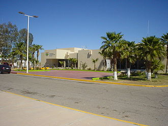 Mexicali International Airport - Image: Mexicali Airport General Aviation Terminal and Commander's Office