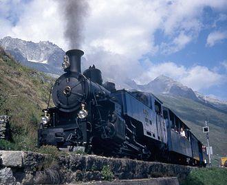 Furka Cogwheel Steam Railway - The Furka Cogwheel Steam Railway