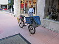 Miami Beach Lincoln Mall Mail Bike.JPG