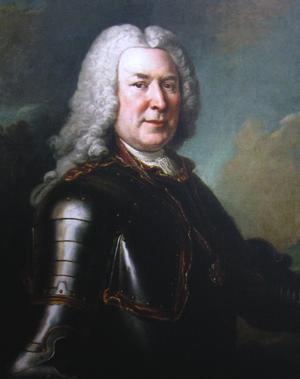Michał Fryderyk Czartoryski - Portrait by Louis de Silvestre