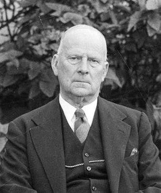 Michael Bruxner - Bruxner in 1951.