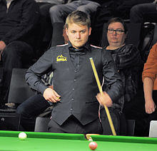 Michael White at Snooker German Masters (Martin Rulsch) 2014-01-29 02.jpg