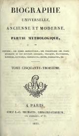 Michaud - Biographie universelle ancienne et moderne - 1811 - Tome 53.djvu