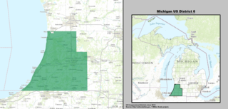 Michigans 6th congressional district U.S. House district for Michigan
