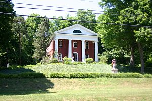 Middlebury, New York - Middlebury Academy: first high school in the Holland Purchase, now listed in the National Register of Historic Places is in Wyoming, New York
