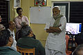 Mihir Sengupta Addresses - Opening Ceremony - PAD 3rd Free Short Term Course on Photoshop - Kolkata 2016-02-06 1052.JPG
