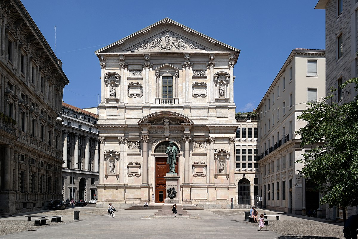 Bildergebnis für chiesa san fedele milano