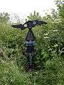Millennium milepost 2 on NCN 63 - geograph.org.uk - 847380.jpg