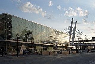 Milwaukee Intermodal Station Intercity bus and train station
